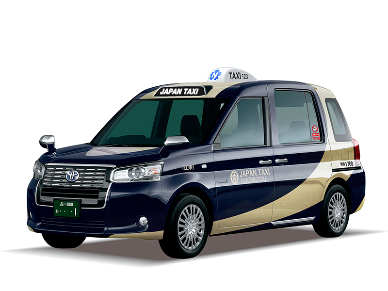 JAPAN TAXI  concept graphics