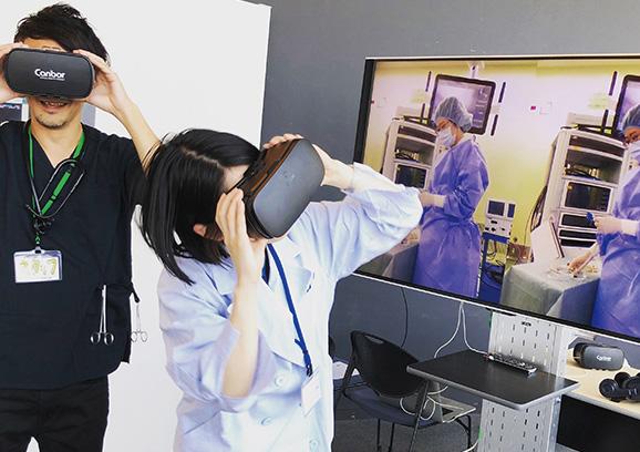 VRで医療体験!日本科学未来館