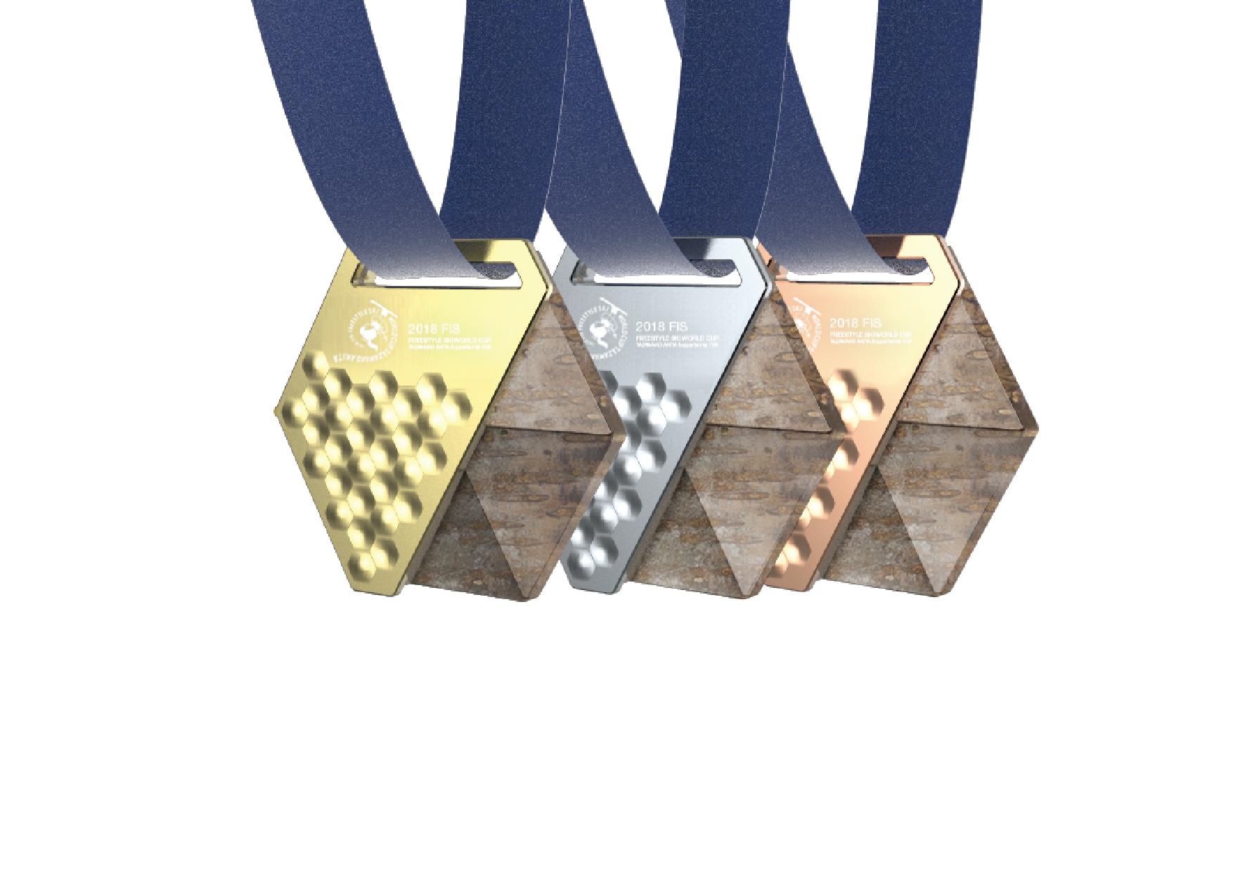 2019FIS リースタイルスキーワールドカップ 秋田たざわ湖大会 表彰メダル